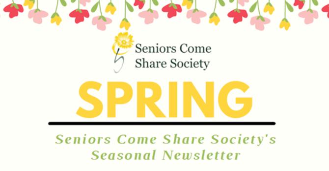 Spring Newsletter image