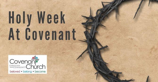 Holy Week Reminders image