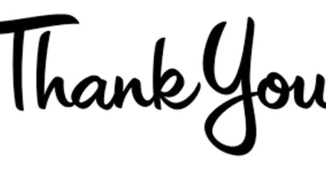 THANK YOU THANK YOU THANK YOU! image