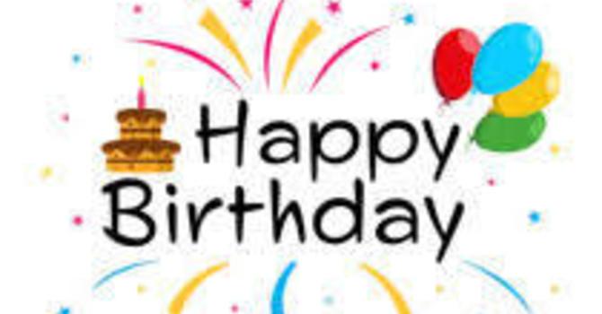 Happy Birthday/Anniversary image