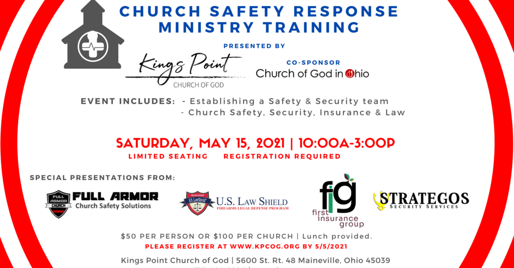Church Safety Response Ministry Training