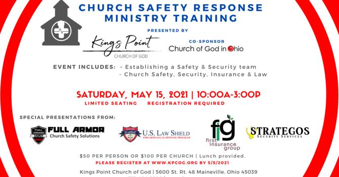 Church Safety Response Ministry Training