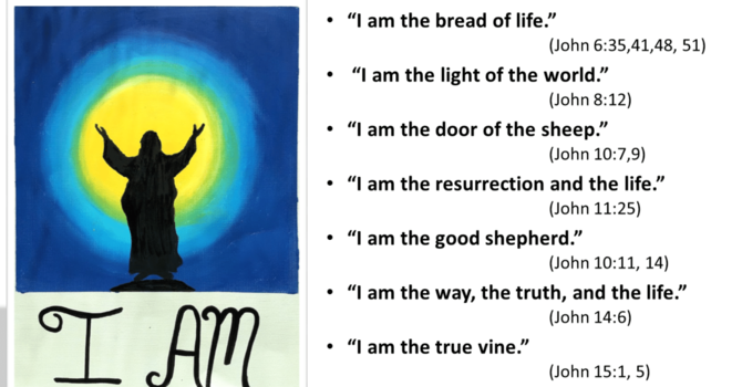"The Seven ""I AM's"" in the Gospel of John image"