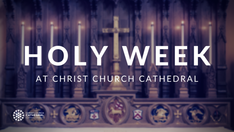 Choral Evensong, Tuesday in Holy Week