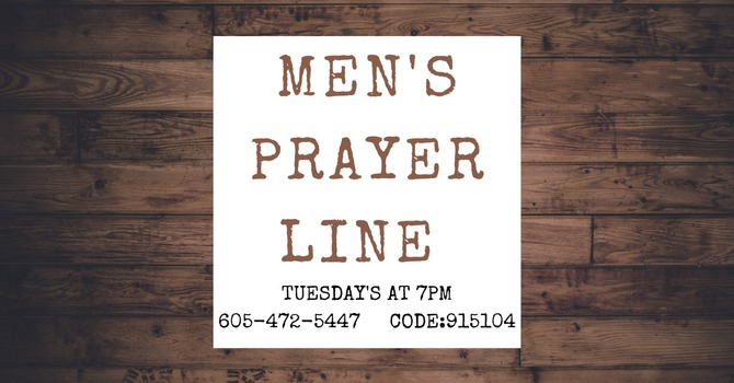 Men's Prayer Line