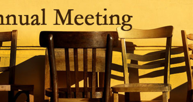 Annual General Meeting - via Zoom