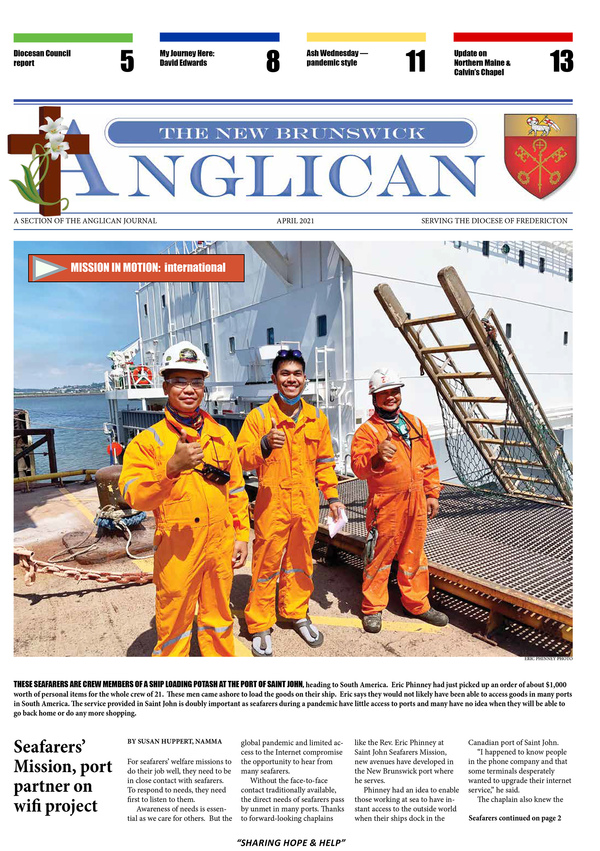 NB Anglican - April edition