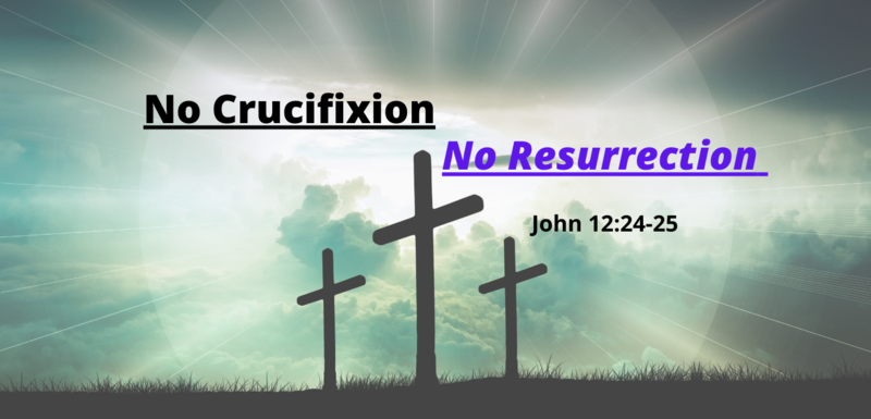 No Crucifixion No Resurrection
