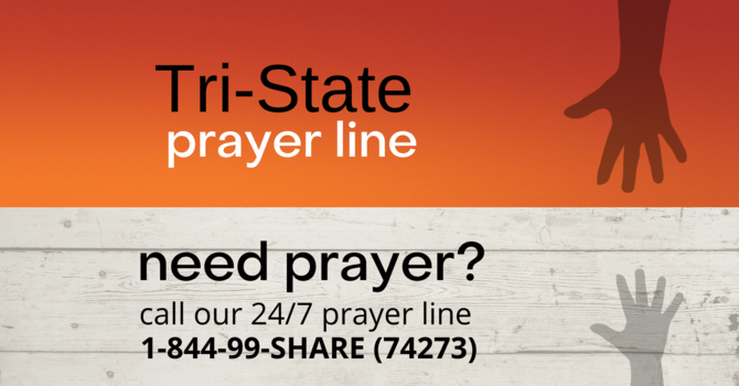 24/7    Prayer Line image