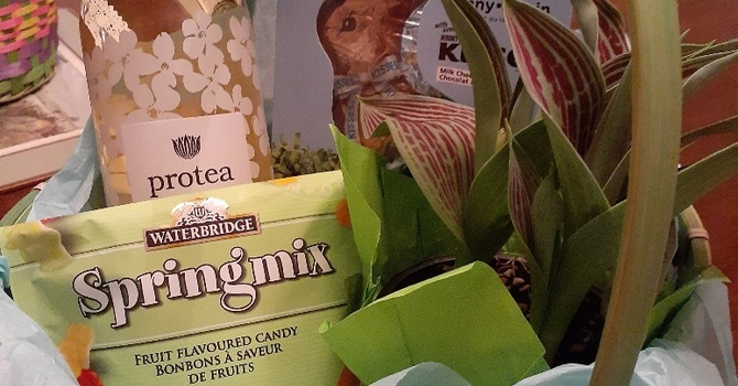 Gift Baskets For Easter Sunday Tea & Coffee Fellowship image