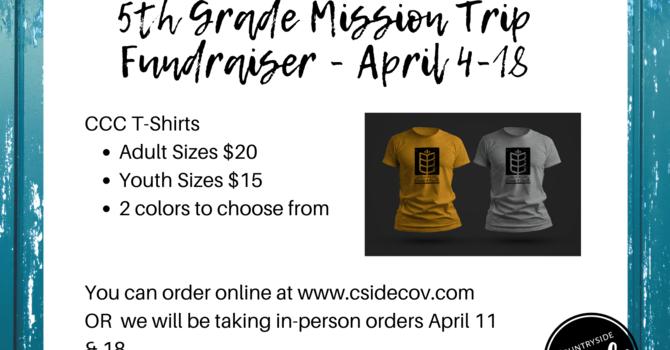 Preteen Mission Trip Fundraiser