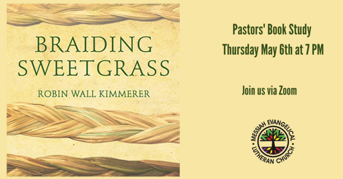 Pastors' Book Study--Braiding Sweetgrass