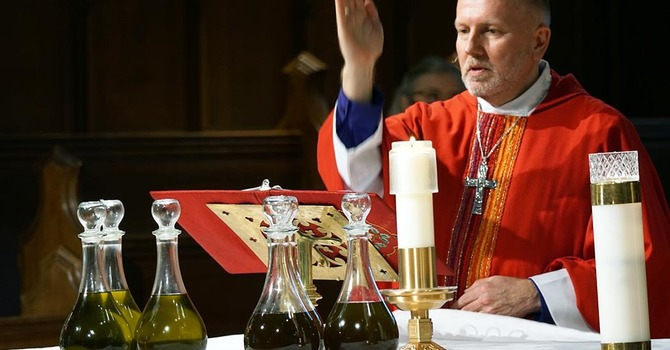 Chrism Mass: Blessing of Oils: Reaffirmation of Vows