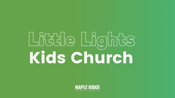Good Friday Kids Church