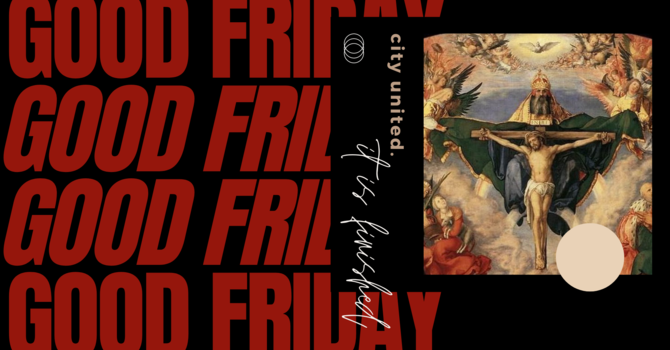 GOOD FRIDAY | It is finished.