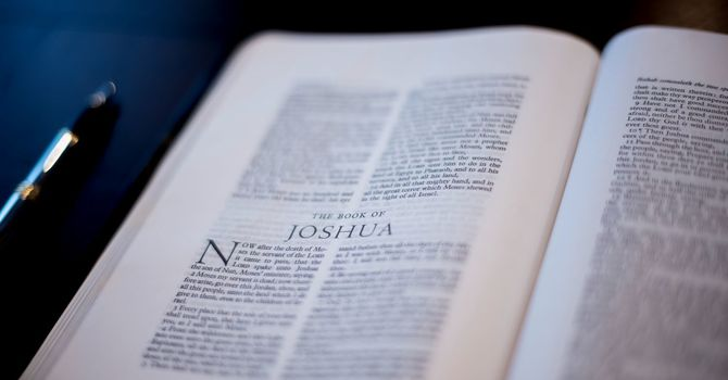 Joshua's Encounter With God