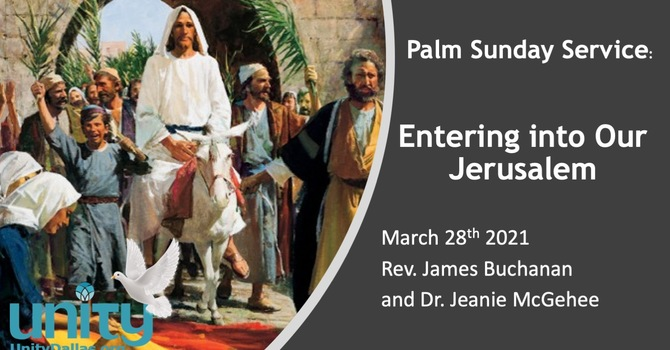 Entering into Our Jerusalem with Compassionate Living