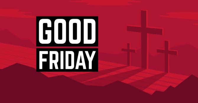 The Joyfulness of Good Friday