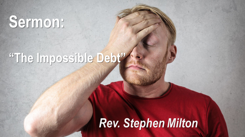 Good Friday Service - The Impossible Debt