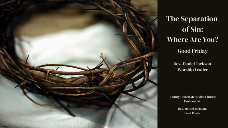 The Separation of Sin: Where are You?