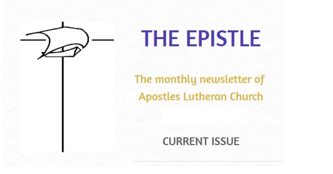 Epistle Newsletter - Apr. 2021 image