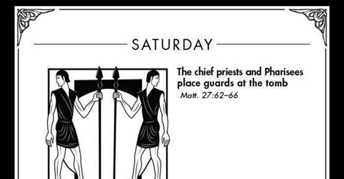 Holy Week: Saturday (April 4, AD 33) image