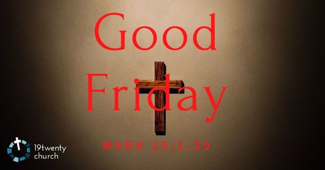 Why We Call it Good Friday image