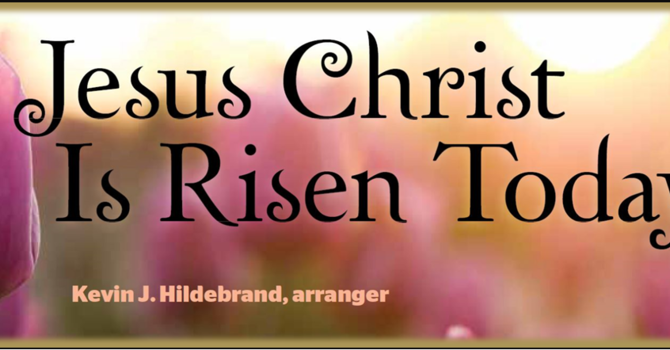 Virtual Easter Hymn