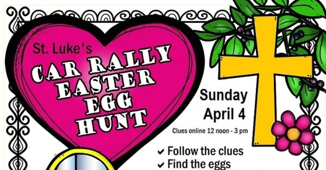 St. Luke's Car Rally Easter Egg Hunt Has Now Ended image