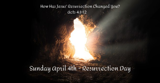 How Has Jesus' Resurrection Changed You?
