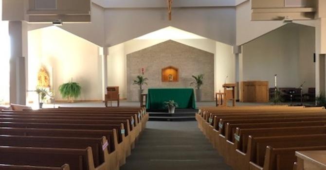 Tuesday Weekday Mass Canceled image