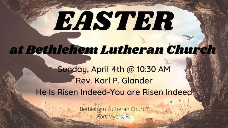 Easter Sunday, April 04, 2021   Sermon