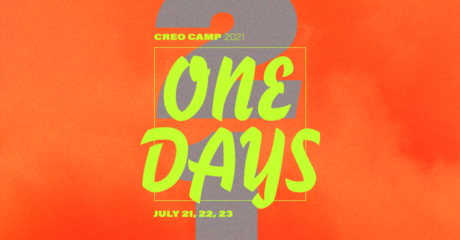 Creo Camp 2021: One Days image