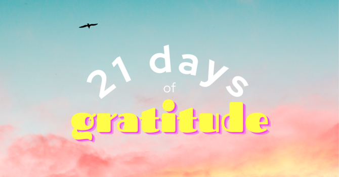 21 Days Of Gratitude image