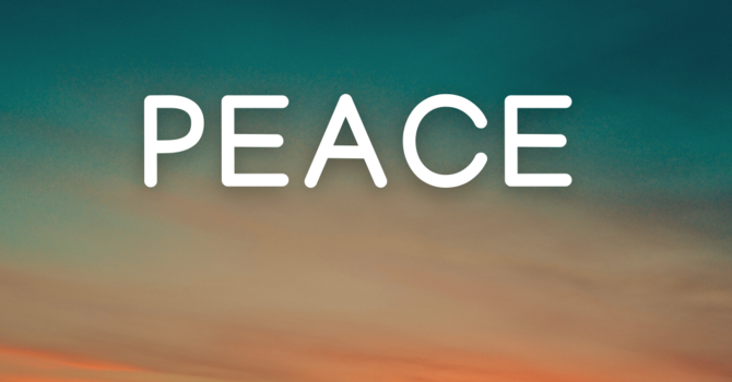 April: Peace image