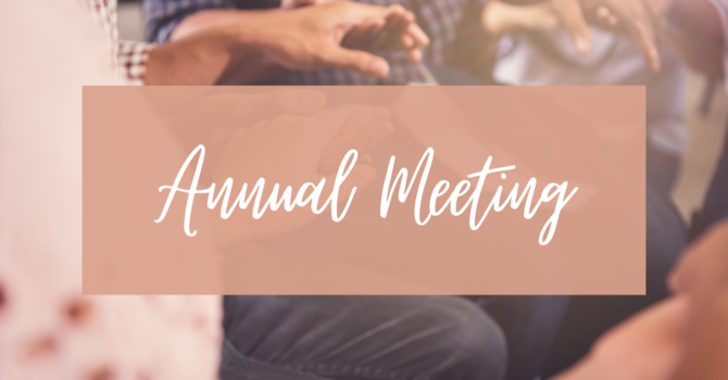 Annual Meeting and Vestry Elections [In-Person]