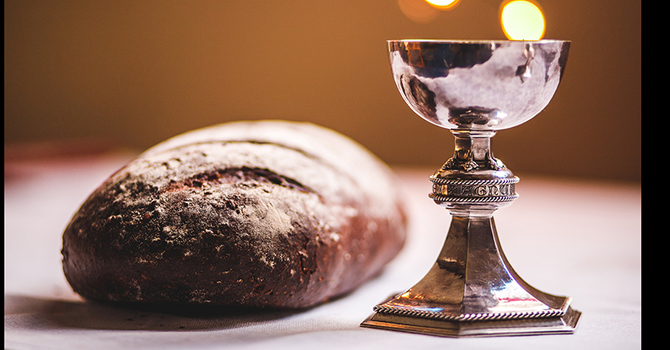 Sharing Communion in a Pandemic image