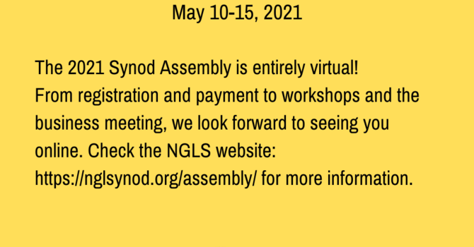 Northern Great Lakes Synod Assembly