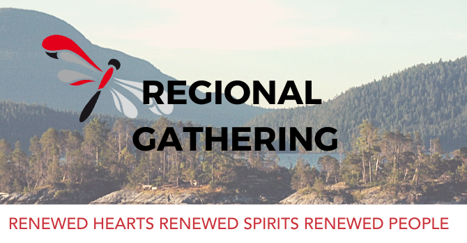 April is regional gathering month image