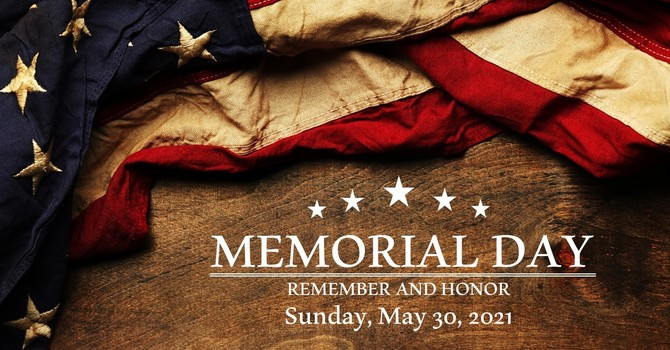 Memorial Day (Sunday)