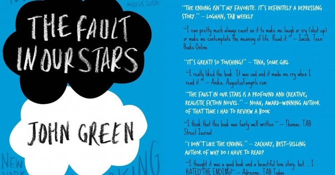 Book Club: The Fault in Our Starts