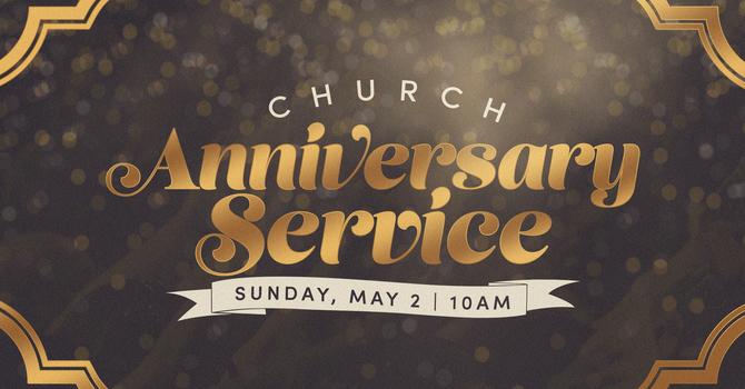 4 Year Church Anniversary Service