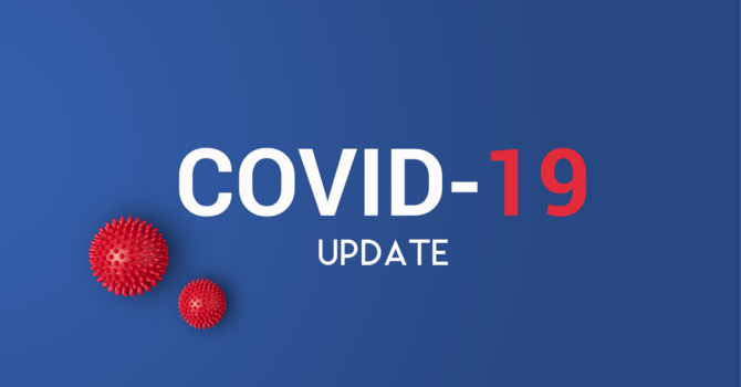 COVID-19 Statement - Worship Online through to end of April image