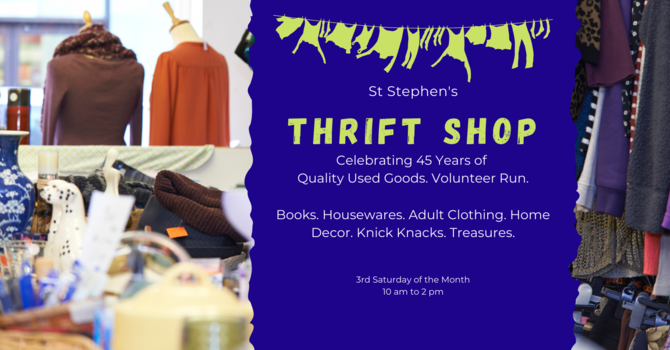 Thrift Shop Open