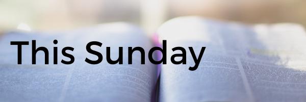 This Sunday