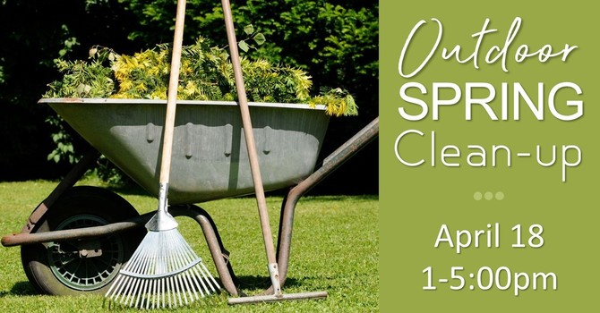 River West Outdoor Spring Cleanup