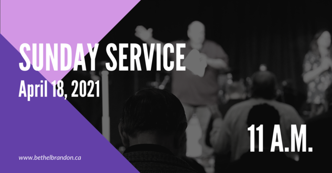 Sunday In Person Servicve 11:00 a.m.