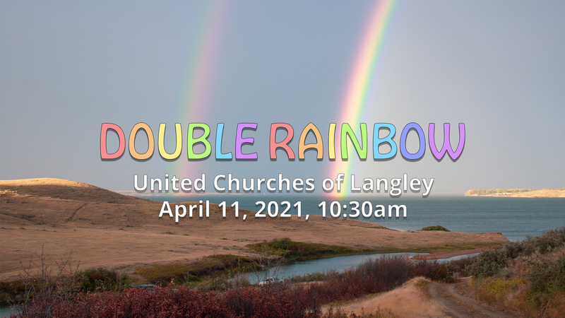 Double Rainbow - Easter 2