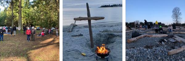 Easter Outdoor Service Photos