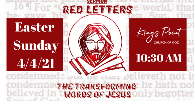 Easter - Red Letters